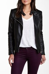 Fate Faux Leather Jacket Black