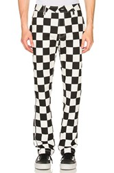 Publish Classic Fit Check Pant Black And White