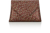 Dries Van Noten Women's Envelope Clutch Gold