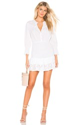 The Jetset Diaries Highway Star Mini Dress White