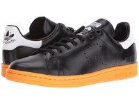 Raf Simons Stan Smith Lace Up Black White Bright Orange Shoes