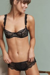 Anthropologie Triumph Iconic Essence Hipsters Black