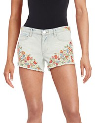Blank Nyc Flower Power Denim Shorts
