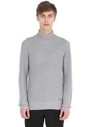 Emporio Armani Wool Blend Turtleneck Sweater