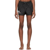 Dolce And Gabbana Black Logo Swim Shorts
