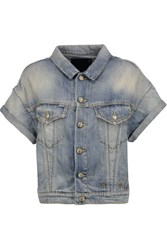 R 13 R13 Faded Denim Jacket Mid Denim