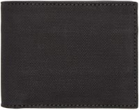 Alexander Wang Black Rubberized Canvas Wallet