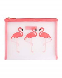 Lolo Bags Stanley Flamingo Mesh Pouch