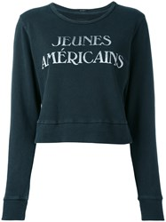 Mother Jeunes Americains Sweatshirt Women Cotton Xs Grey