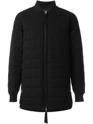 Blood Brother Zipped Padded Jacket Black