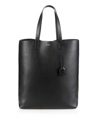 Saint Laurent Monogram Leather Shopper Bag