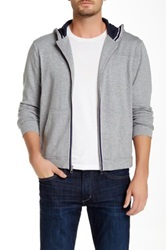 Joe's Jeans Taylor Poncho Zip Jacket Gray