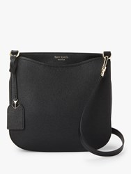 Kate Spade New York Nicola Medium Flap Over Leather Shoulder Bag Black