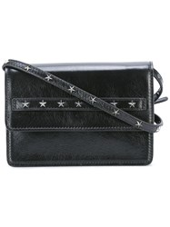 Red Valentino Studded Detail Crossbody Bag Black