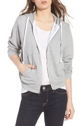 Wildfox Couture Bridesmaid Regan Zip Hoodie Heather