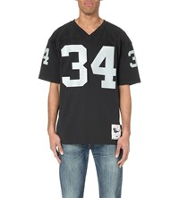 Mitchell And Ness Bo Jackson 1990 Oakland Raiders Authentic Nfl Jersey Top Black