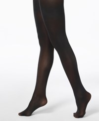 Inc International Concepts I.N.C. Matte Opaque Tights Black