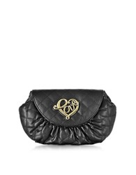 Love Moschino Small Quilted Pouch Black