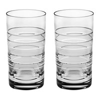 Vista Alegre Vinyl Highball Glass Set Of 2