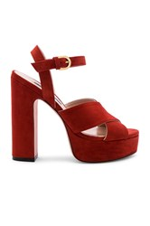 Stuart Weitzman Joni Platform Burnt Orange