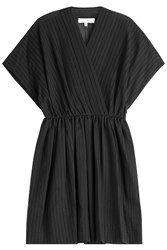 Iro Cotton Kimono Dress Black