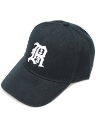 R 13 R13 Embroidered Logo Cap Black
