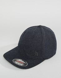 The North Face Classic Wool Ball Cap In Black Black