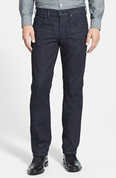 Men's 7 For All Mankind 'The Straight Luxe Performance' Tapered Straight Leg Jeans Deep Well