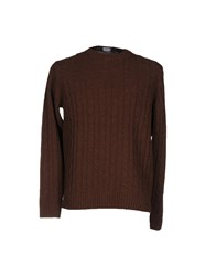 Rossopuro Sweaters Dark Brown