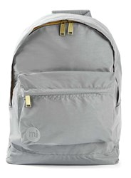 Topman Mi Pac Silver Reflective Backpack Metallic
