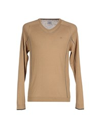 C.P. Company Knitwear Jumpers Men Khaki