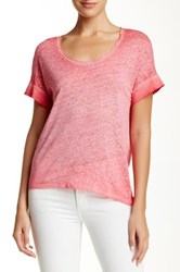 Brochu Walker Ginger Linen Tee Pink