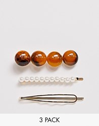 Pieces Pearl Gold Marble Clip Multipack