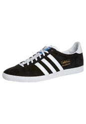 Adidas Originals Gazelle Og Trainers Black White Metallic Gold