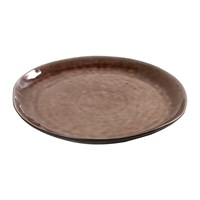 Serax Round Plate Brown Large