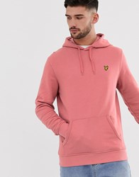Lyle And Scott Pullover Hoodie Pink