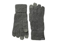 Coal The Randle Glove Heather Grey Wool Gloves Gray