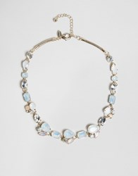 Coast Emily Stone Statement Necklace Rose Gold