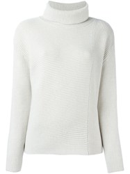 Odeeh Roll Neck Jumper Nude And Neutrals