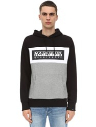 Napapijri Terry Bek H Cotton Sweatshirt Hoodie Array 0X58a7cd8