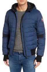 Canada Goose Men's Cabri Hooded Down Jacket Marine Blue