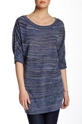 Bcbgmaxazria Karolina Scoop Neck Tunic Purple