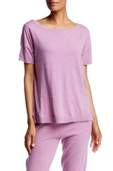 Ugg Jade Short Sleeve Sweater Purple