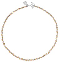 Dower And Hall Sterling Silver 18Ct Vermeil Nomad Necklace Multi