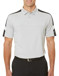 Callaway Golf Performance Embossed Shoulder Blocked Polo