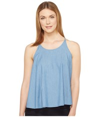 Ag Adriano Goldschmied Felicity Top Distant Women's Clothing Blue