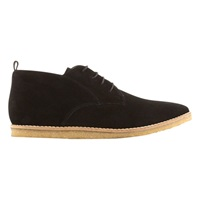 Mint Velvet Carey Pointed Plimsolls Black Suede