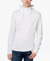 American Rag Men's Funnel Neck Sweatshirt Only At Macy's Bright Whi