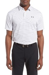 Under Armour Men's Coolswitch Polo White Graphite