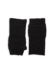 John Varvatos Textured Gloves Black